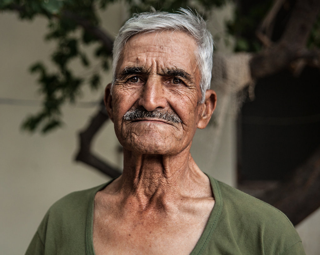 Man from a turkish village