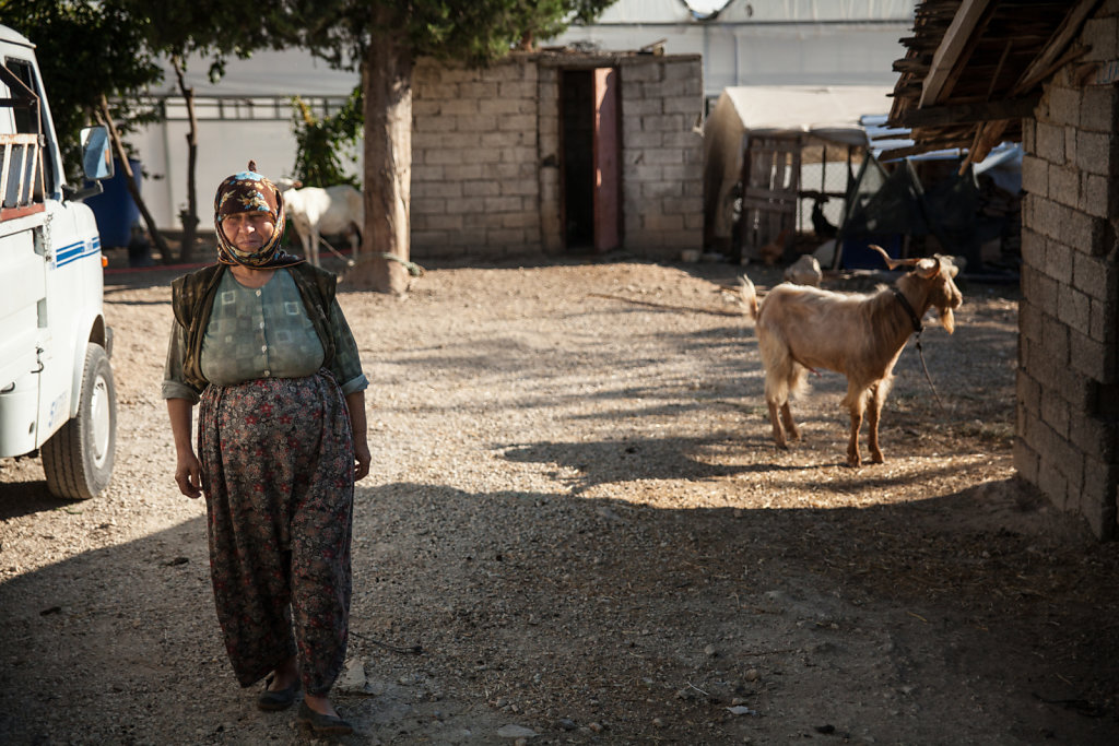 Woman from a village in Turkey
